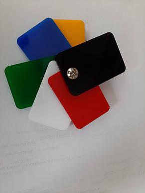 Акрил екструдований Plexiglas, чорний, 3 мм, лист 3050х2050мм, фото 2