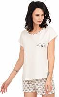 Пижама женская MODENA P022 ровер L Белый, КОД: 1584564