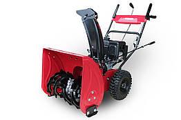 Снегоуборщик бензиновый Weima WWS0722A 4.5 кВт 6 передач 4-хтактный двигатель Красный 52-10070, КОД: 1291175