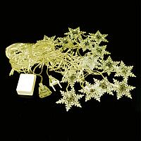 Гирлянда Снежинки Зеленый hubrzHv92547, КОД: 1555283