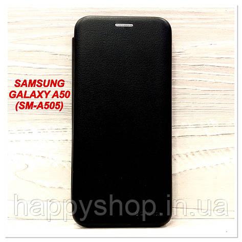 Чохол-книжка G-Case для Samsung Galaxy A50 (SM-A505) Чорний, фото 2
