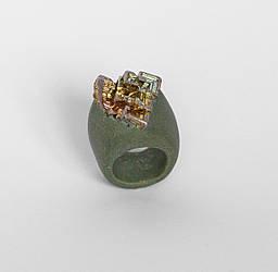 Женское кольцо PLAXA c висмутом 18.5 размер PL1014, КОД: 1556721