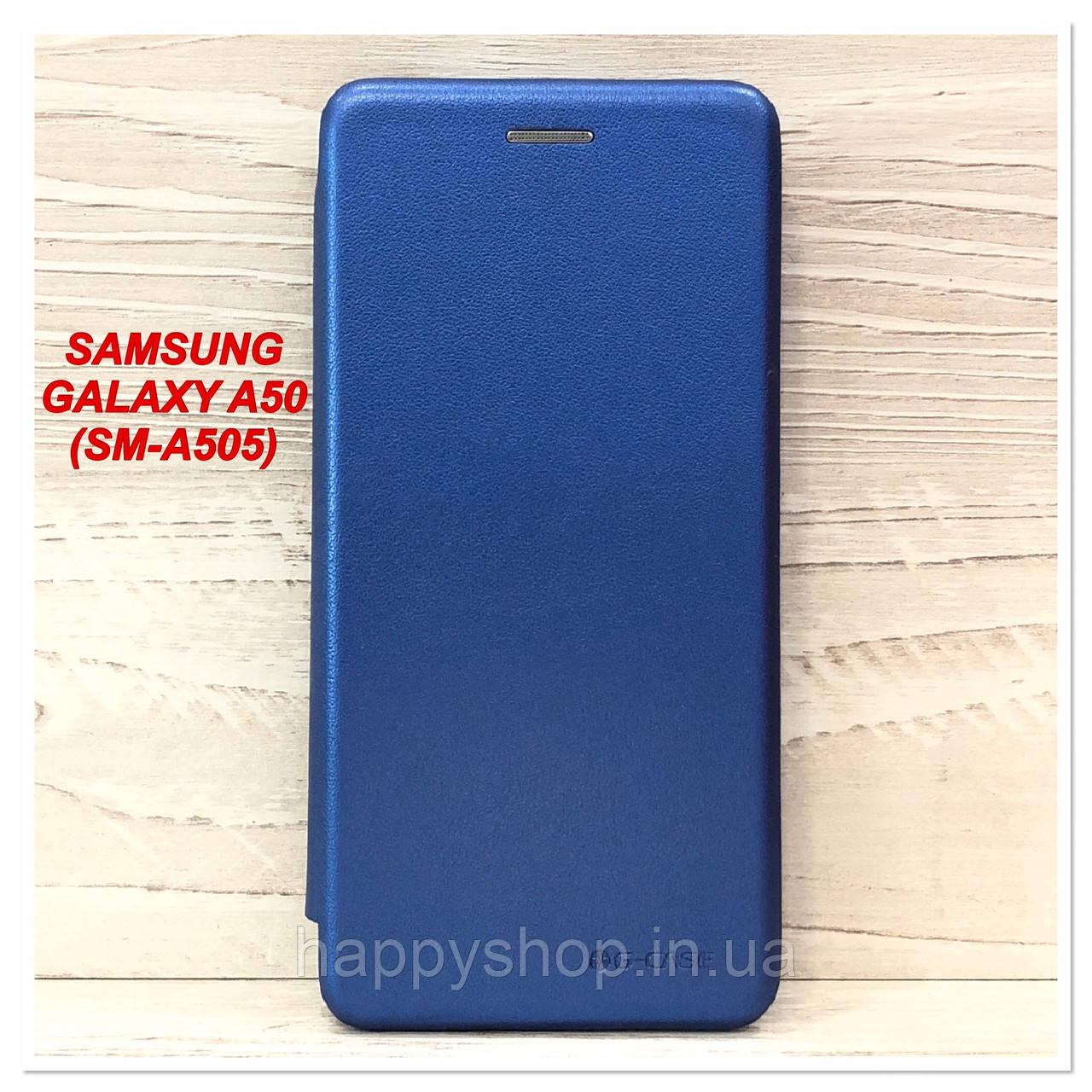 Чохол-книжка G-Case для Samsung Galaxy A50 (SM-A505) Синій