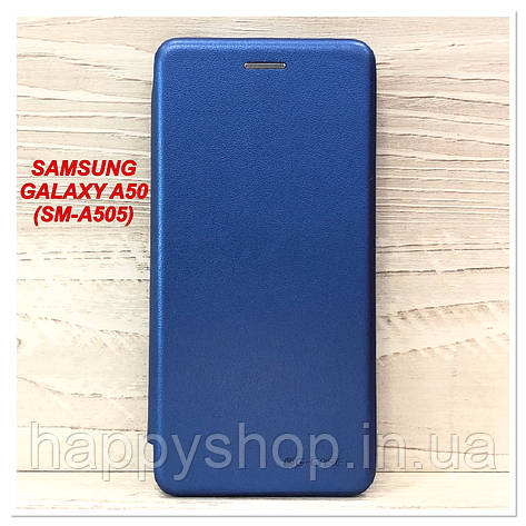 Чохол-книжка G-Case для Samsung Galaxy A50 (SM-A505) Синій, фото 2