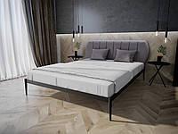 Кровать MELBI Бьянка 01 Двуспальная 160190 см Черный КМ-009-02-5чер, КОД: 1469078