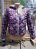 Демисезонная двусторонняя курточка для девочки-подростка 36 -42 размер