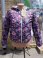 Демисезонная двусторонняя курточка для девочки-подростка 36 -42 размер, фото 1