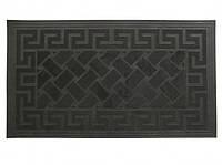 Коврик резиновый Геометрия Черный wo112657, КОД: 1533188