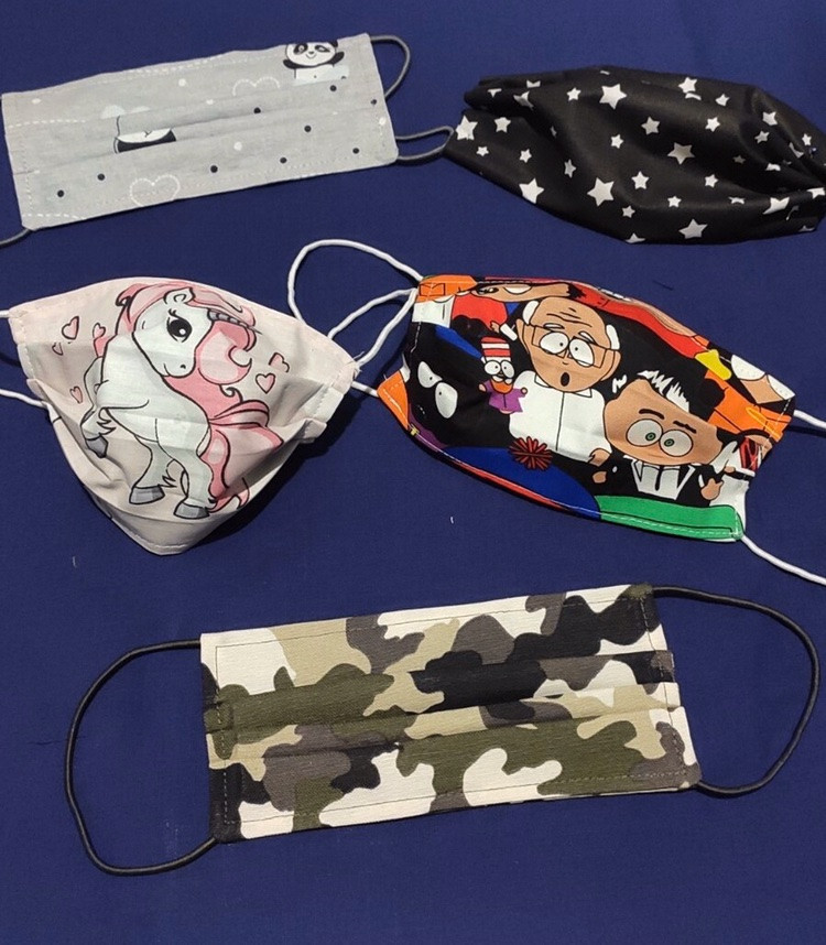 Маска детская, защитная маска для лица