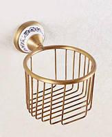 Держатель туалетной бумаги Art-Design Deco DB033-1 Бронза 5633, КОД: 1521057