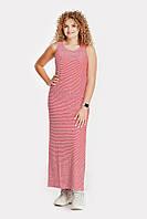 Платье PEONY Пирей 48 Красно-белый 300718, КОД: 1579949