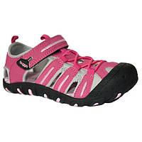 Спортивные босоножки с прорезиненным носком Pidilidi Bugga 29 B099 Розовые, КОД: 1143291