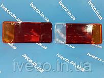 Стекло заднего фонаря левого правого Iveco EuroCargo Ивеко Еврокарго 7984016 7984796 7984880 93158535 9939714