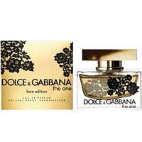 Dolce & Gabbana The One Lace Edition EDP 75ml (парфюмированная вода Дольче Габбана Зе Ван Лейс Эдишн)