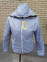 Красивая демисезонная двусторонняя верхняя одежда для девочки-подростка оптом от производителя