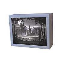 3D Lightbox-ночник Vesper Битва лучника с великаном 205, КОД: 1473751