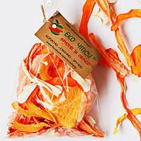 Овощные чипсы из тыквы-20, моркови-20 и пастернака-10, смесь 50 грамм, фото 1