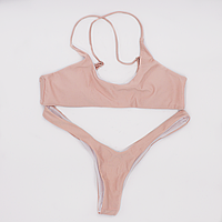 Купальник раздельный женский Lux4ika M Розовый 2d-308, КОД: 1490697