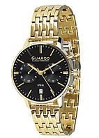 Мужские наручные часы Guardo S01476m GB Золотистый, КОД: 1548705