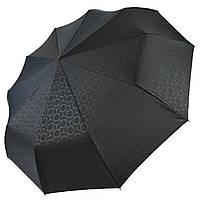 Автоматический зонт Три слона Черный 333-1, КОД: 1489666