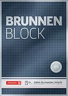 Блокнот Brunnen А4 50 листов в клетку 1052828, КОД: 1576573