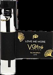 Парфюмированная вода VOTRE Parfum Love me more 2 ml 9000007089УН000015427, КОД: 1462263