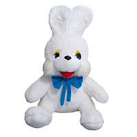 Мягкая игрушка Zolushka Заяц Степашка маленький 45см белый 266-1, КОД: 1463285