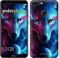 Силиконовый чехол Endorphone на Huawei Honor 9 Lite Арт-волк 3999u-1359-26985, КОД: 1537489