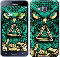 Пластиковый чехол Endorphone на Samsung Galaxy J3 Duos 2016 J320H Сова Арт-тату 3971m-265-26985, КОД: 1537764