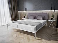 Кровать MELBI Бьянка 02 Двуспальная 160190 см Белый КМ-010-02-5бел, КОД: 1469772