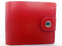 Женский мини кошелек кожаный Красный 056, КОД: 1549687