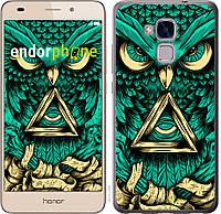 Пластиковый чехол Endorphone на Huawei GT3 Сова Арт-тату 3971t-472-26985, КОД: 1537907