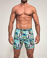 Трусы-боксеры Cornette Classic XXXL Разноцветный 001-92 XXXL, КОД: 1563016