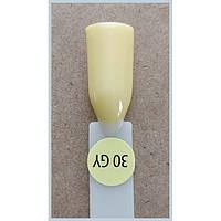 Гель-лак Kodi Professional 30GY, Светло-желтый, эмаль
