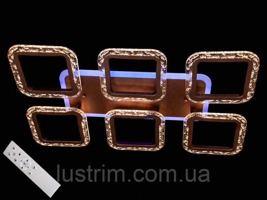 Потолочная светодиодная люстра с диммером 75W