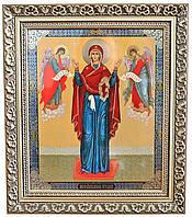 Икона Божией Матери «Нерушимая стена» (багет)