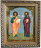 Икона «Святые апостолы Петр и Павел» (багет)