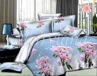 Комплект постельного белья Цветение Merryland бязь Евростандарт 1412