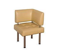 Угловой диван для посетителей Премьера Тетрис Угол 540х540х820 мм Бежевый hubXkEB24066, КОД: 1583794