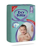 Подгузники детские Evy Baby Midi Jumbo 3 (5-9 кг) 68 шт
