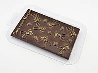 Пластиковая форма для шоколада Плитка Светлой Пасхи