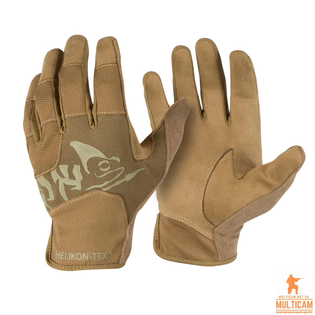 Перчатки Helikon-Tex® All Round Fit Gloves® - Coyote/Adaptive Green