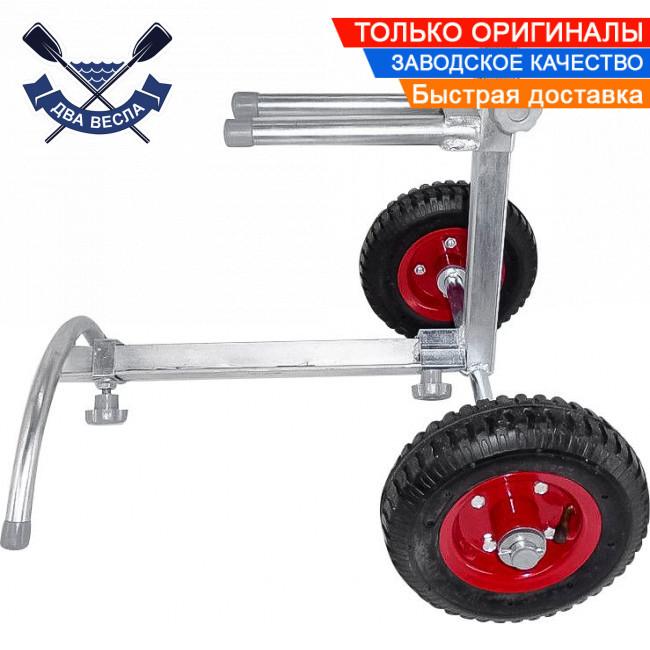 Разборная тележка для мотора до 40 кг на 6-10 л.с. тележки для лодочного мотора полуразборные пневматика сталь