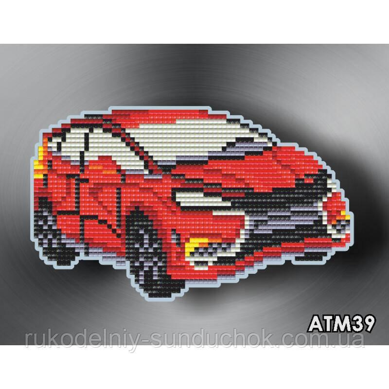 Набор алмазной вышивки (магнит) ТМ ArtSolo  Автомобиль  АТМ39