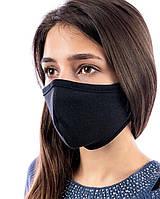 Защитная маска многоразовая (хб, интерлок).  Заказ от 2-х штук.