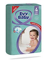 Подгузники детские Evy Baby Maxi Jumbo 4 (7-18 кг) 64 шт