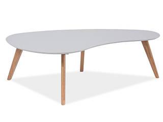 Журнальный столик Aurea серый/дуб