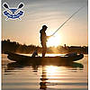 Вкладное дно для надувний байдарки Човен ЛБ-300Н Рибальське надувне широке, фото 6