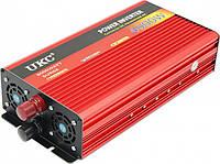 Преобразователь авто инвертор UKC 24V-220V AR 4000W c функции плавного пуска, фото 1