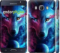 Пластиковый чехол Endorphone на Samsung Galaxy J5 2016 J510H Арт-волк 3999c-264-26985, КОД: 1537470